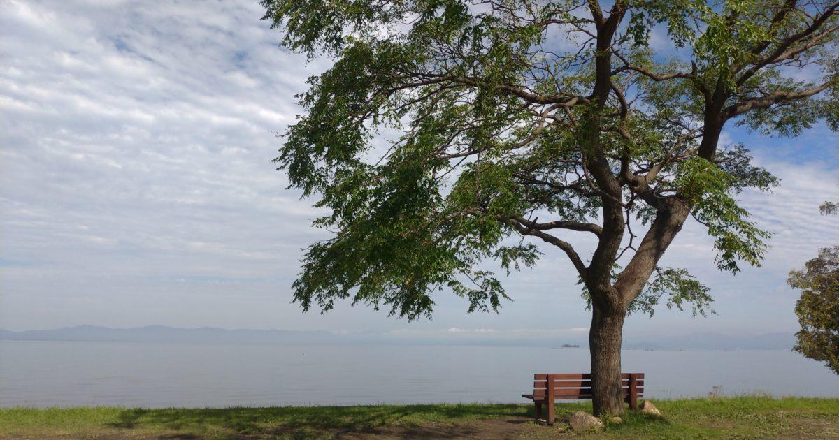 びわ湖あのベンチ